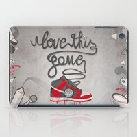 I Love This Game iPad Case