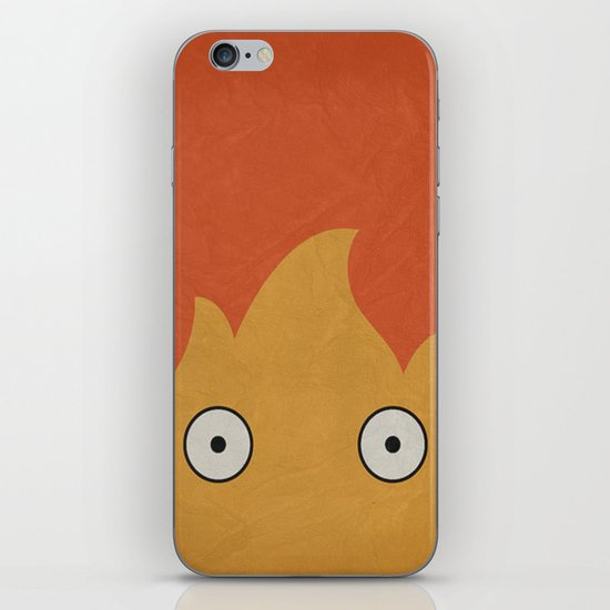 Howl Castle Poster iPhone & iPod Skin