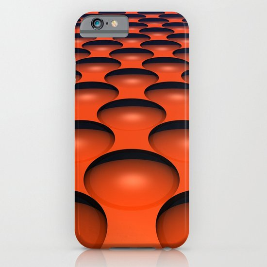 Orange Dimples iPhone & iPod Case