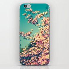 Her Favorite Color was Pink Flowers iPhone & iPod Skin