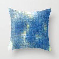 Beauty from inside Throw Pillow