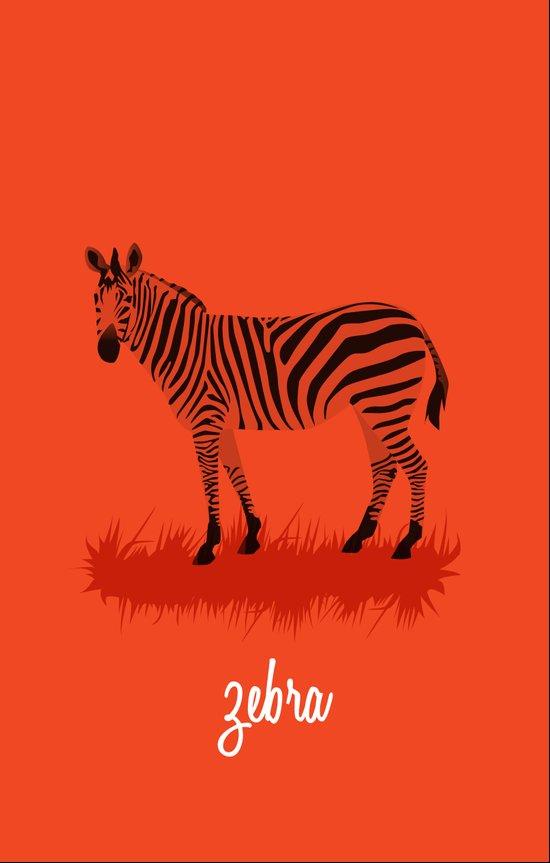 4-Legged Exotica Series: Zebra Art Print
