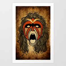 The Ultimate Warrior Art Print