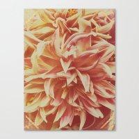 Flower - Tribal Pattern … Canvas Print