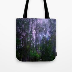 Mystic Forest : Purple Space  Tote Bag
