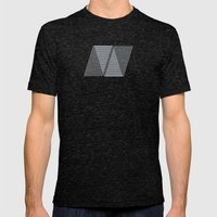 N like N Mens Fitted Tee Tri-Black SMALL