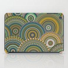 Mandala Mania-Mineral colors iPad Case