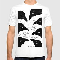 The Seven Ravens  Mens Fitted Tee White SMALL
