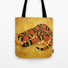 Mexican Candy Corn Snake Tote Bag