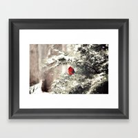 View The Snowfall, Cardi… Framed Art Print