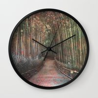 forest2 Wall Clock