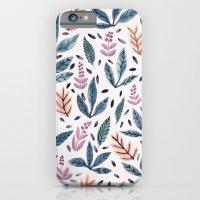 Painted Leaves iPhone 6 Slim Case