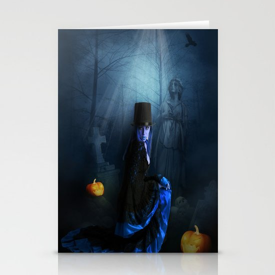 Halloween Stationery Card