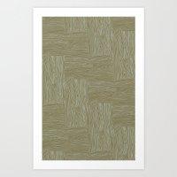 Woodgrain Art Print