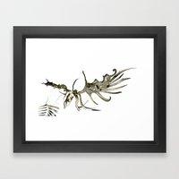 GOLDEN ELK Framed Art Print