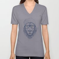Cool Lion Unisex V-Neck