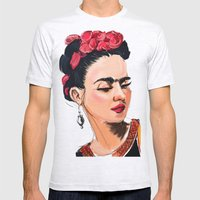 Frida Mens Fitted Tee Ash Grey SMALL
