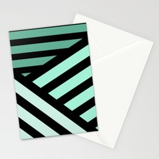 STRIPED {MINT} Stationery Cards