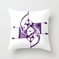 Ruskova Throw Pillow