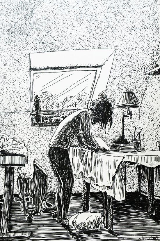 梦茶 Art Print