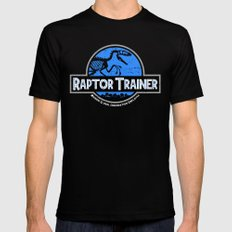 Raptor Trainer Mens Fitted Tee Black SMALL