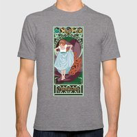 Thumbelina Nouveau - Thumbelina Mens Fitted Tee Tri-Grey SMALL