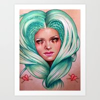 Queen Of Heartbreaks Art Print