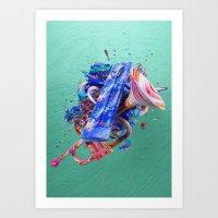 Colour Form & Expression… Art Print