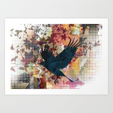 It's Time To Land.. Art Print