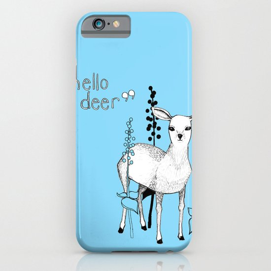 hello deer! iPhone & iPod Case