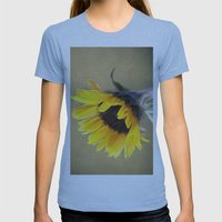 Bright Hope Womens Fitted Tee Athletic Blue SMALL