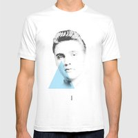 Elvis | Esperantos | Dot… Mens Fitted Tee White SMALL