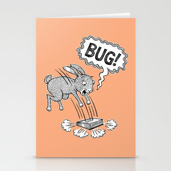 BUG! Stationery Card