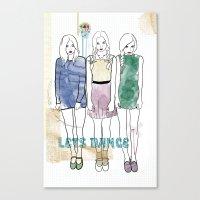 Celebrate The Irony Canvas Print