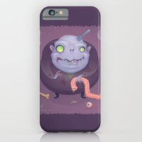 iPhone & iPod Case featuring Blob Zombie by John Schwegel