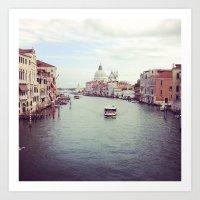 Hello Venice! Art Print