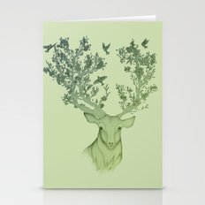 The Natural Progression? 1 of 3 in Green Stationery Cards