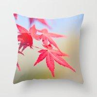 Spring Maple Tree 1012 Throw Pillow