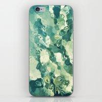 Fluidity #3 iPhone & iPod Skin