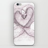 The Flamingos iPhone & iPod Skin