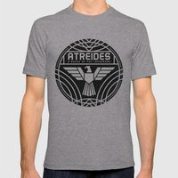 HOUSE ATREIDES BADGE Mens Fitted Tee Athletic Grey SMALL