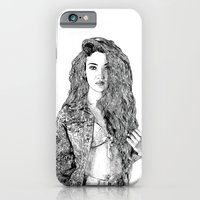 iPhone & iPod Case featuring Girl by Seth Beukes