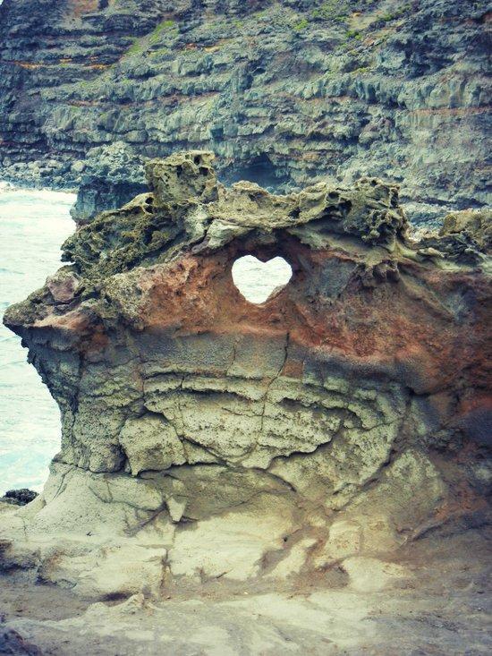 Corazón de la Playa Art Print