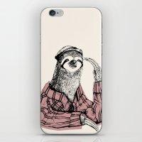Perezoso iPhone & iPod Skin