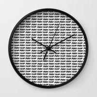 Porkchoppppssss Wall Clock