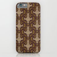 Leaf On The Wind Damask iPhone 6 Slim Case