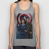 Peggy and Jarvis Unisex Tank Top