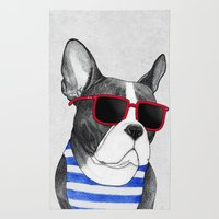 Frenchie Summer Style Rug
