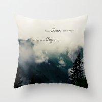Dream Big II Throw Pillow
