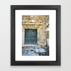Histoire de portes IV Framed Art Print
